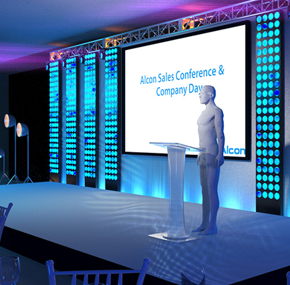 Full 3D Event Visualisation, X3 Solutions Ltd