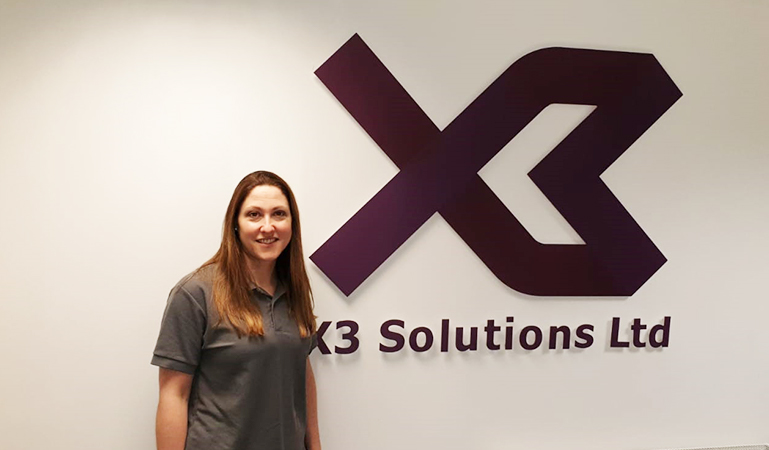 X3 Welcome New Head of Finance