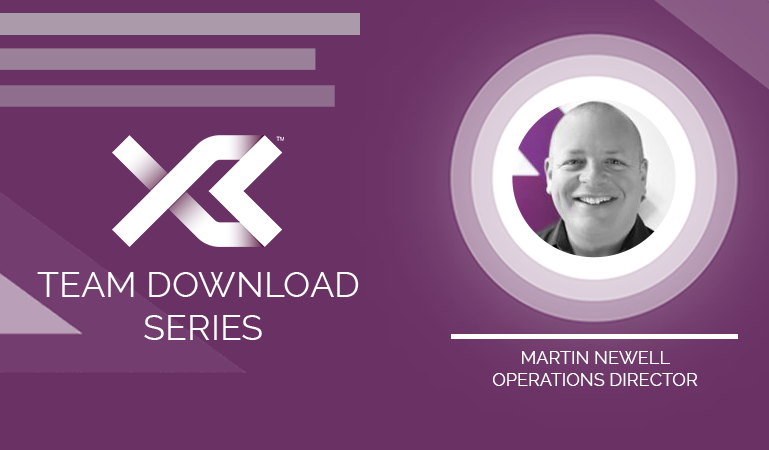 X3 Team Download Series: Martin Newell